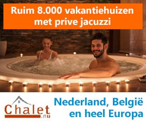 chalet nu prive bubbelbad banner